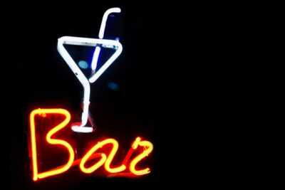 Bar neon sign hn