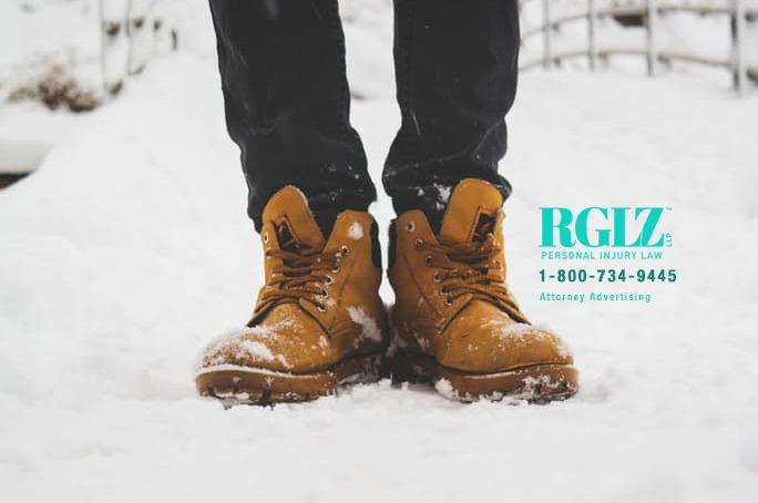 Snow work boots work injury prevention