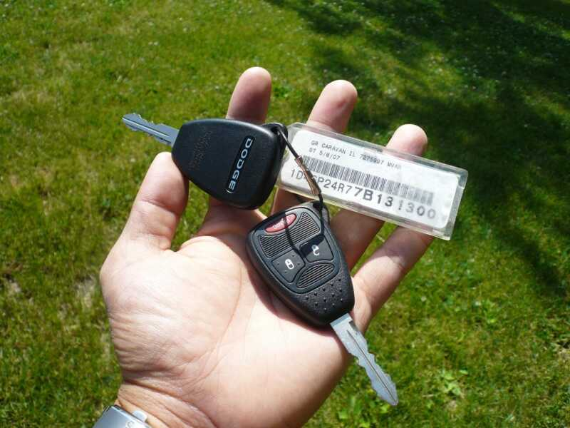 Car rental keys