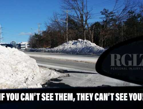 Snow Bank Dangers