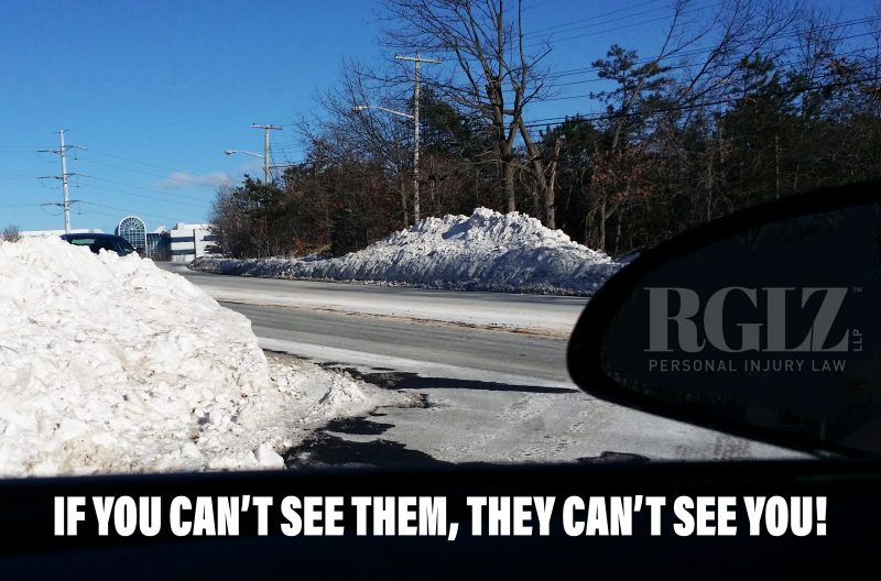 SNOW BLOCKING DRIVERS VIEW RGLZ LAW
