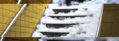 NYC Transit Authority has to pay million dollars for not removing snow from subway stairs
