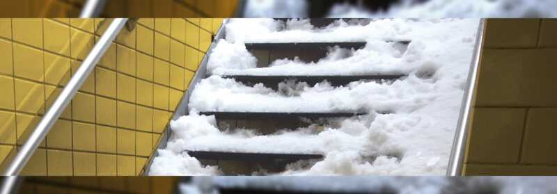 NYC Transit Authority has to pay 8 million dollars for not removing snow from subway stairs