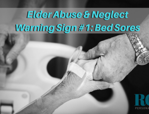 Elder Abuse & Neglect Warning Sign #1: Bed Sores