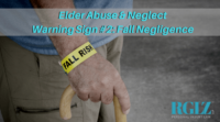 Bumps, bruises and scrapes could be warning signs of elder abuse or neglect