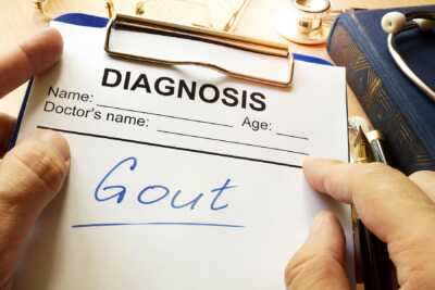 Gout diagnosis RGLZ Law