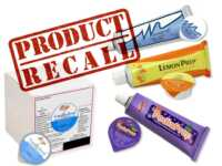 Medical Tubes Purple yellow recall products